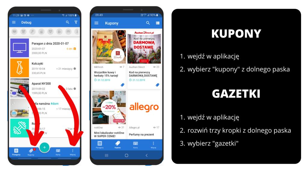 PanParagon: Kupony i gazetki - widok na Android
